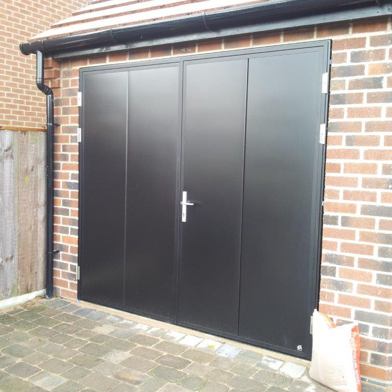 Ryterna side hinged ryterna side hinged steel the garage for Garage side entry door