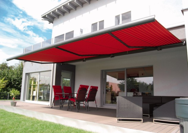 patio awnings samson awning the garage door centre range uk. Black Bedroom Furniture Sets. Home Design Ideas