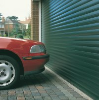 short drive ways no problem with a roller door