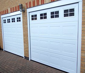 The garage door centre garage doors kettering for Single garage cost