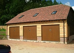 Sectional Doors Vertical Or Horizontal Opening Garage