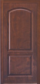 Silvelox ARC Entrance Door - timber house door with arched design