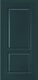 Silvelox BIG Entrance door timber door in dark green