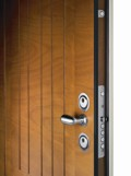 Silvelox Perfecta entrance door