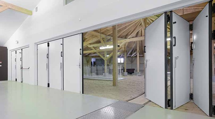 Folding Doors Vertical Folding Doors Garage