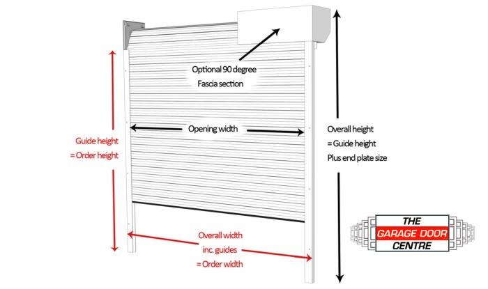 Industrial Garage Door Dimensions Industrial Garage Door Dimensions   Magiel