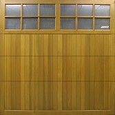 Cedar Trent timber garage door