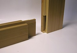 Mortice and tenon jointing