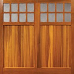 woodrite Bierton cedarwood side hinged timber doors