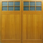 Edale side hinged timber doors