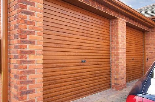Gliderol steel roller shutter garage door