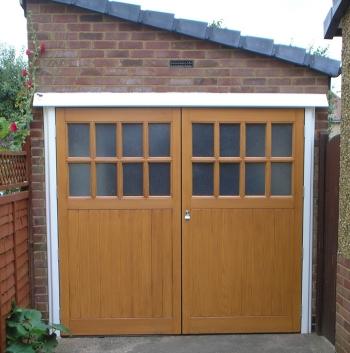 Grp side hinged | The Garage Door Centre
