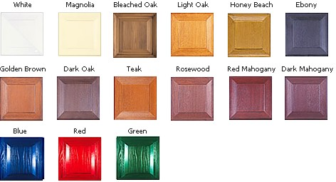 Wessex GRP Colour Range