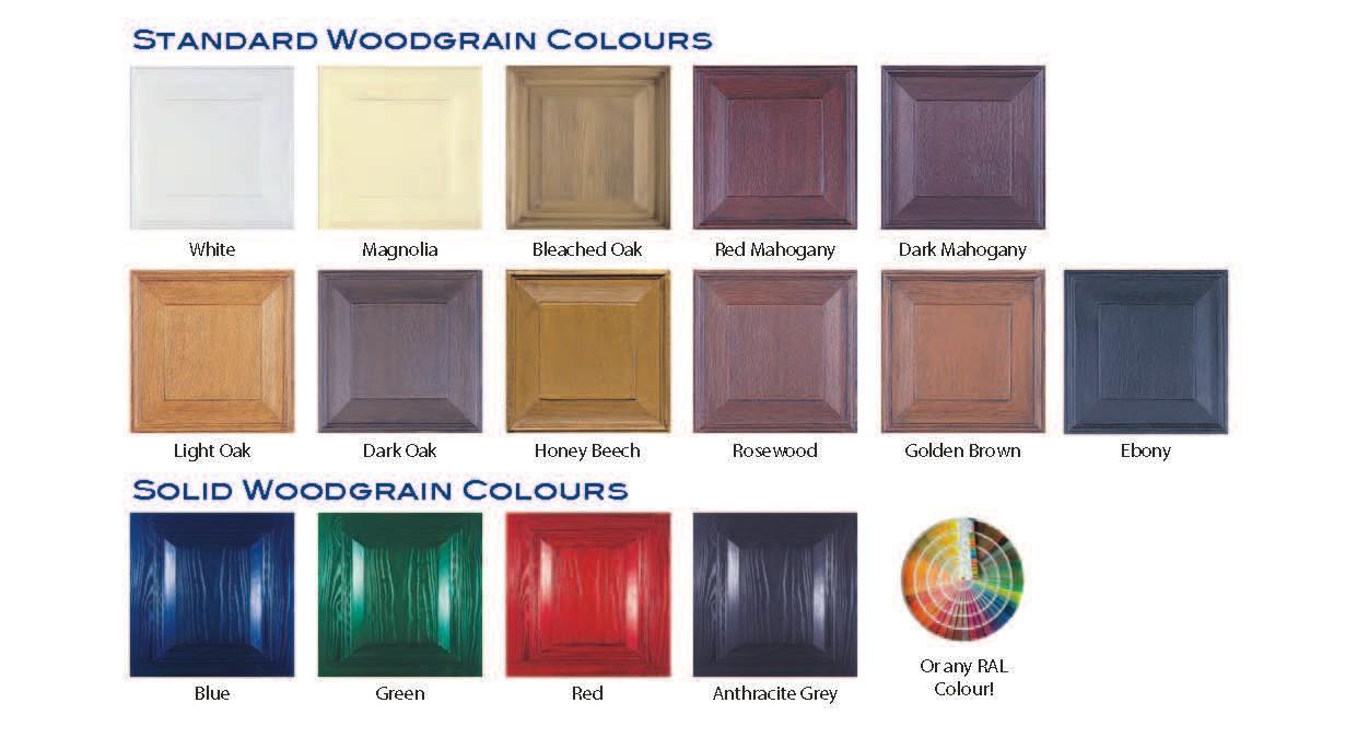 Wessex Woodgrain Colours