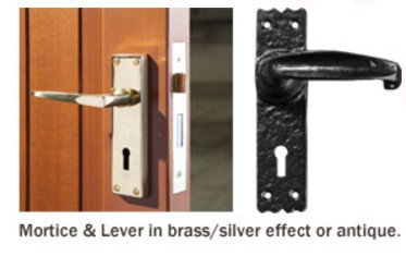 mortice & lever handle