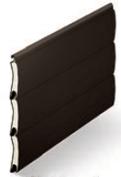 Black/ Brown - Woodgrains Range, SeceuroGlide Classic Roller Garage Doors