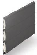 Graphite  - Contemporary Colour Range, SeceuroGlide Classic Roller Garage Doors
