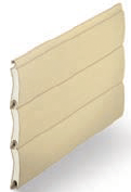 Ivory - Heritage Colour Range, SeceuroGlide Classic Roller Garage Doors