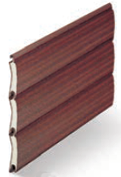Mahogany - Woodgrains Range, SeceuroGlide Classic Roller Garage Doors