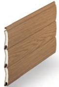 Natural Oak - Painted Woodgrains, SeceuroGlide Classic Roller Garage Doors