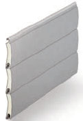 Silver Metallic - Contemporary Colour Range, SeceuroGlide Classic Roller Garage Doors