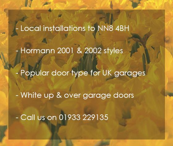 Low price Northamptonshire garage door installation