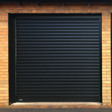 SeceuroGlide Roller Door in Black