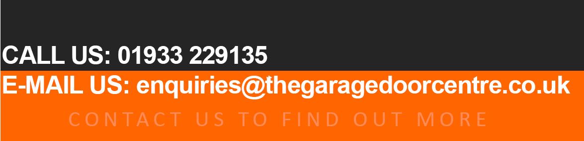 Contact The Garage Door Centre