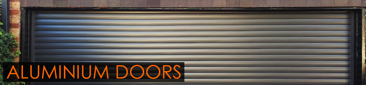 Aluminium Doors from The Garage Door Centre