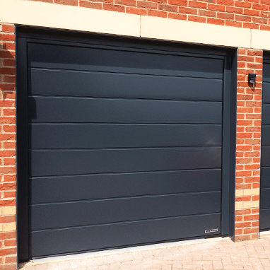 Hormann insulating sectional garage door