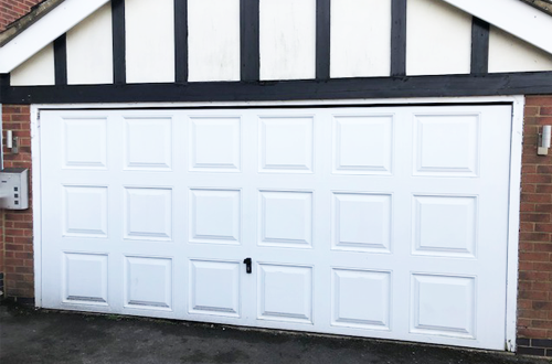 The Garage Door Installation before