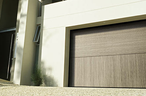 Trackless sectional garage door from Silvelox