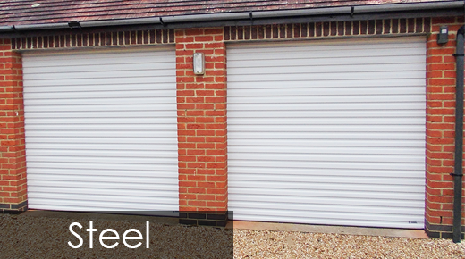 Steel Roller Shutter Garage Doors