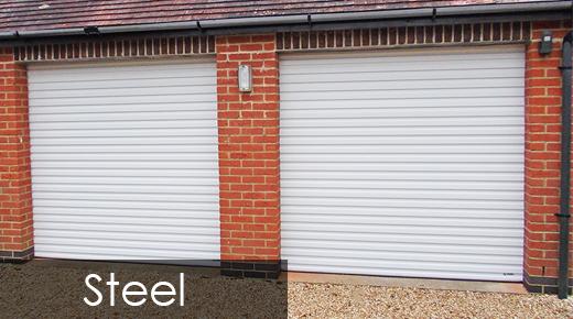 Steel Roller Shutter Garage Doors