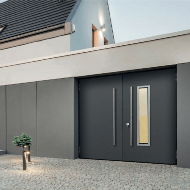 Teckentrup 62-2 side hinged garage door