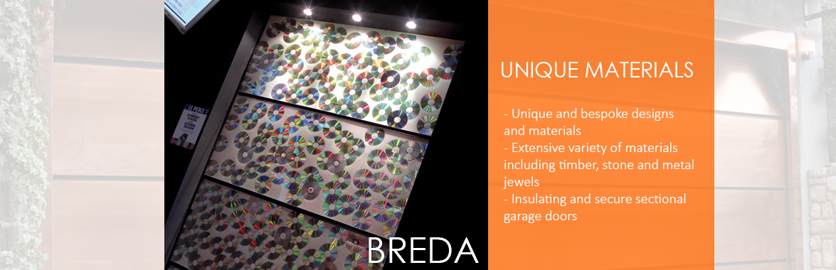 Breda Garage Doors - Bespoke Materials and Designs