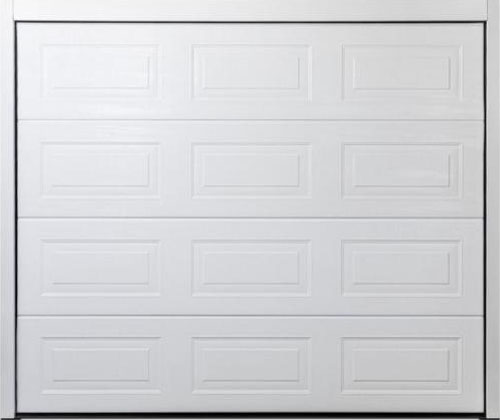 Carteck Classic Panelled Steel Sectional Garage Door