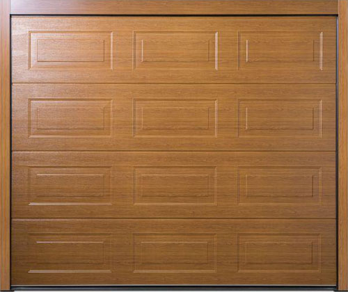 Carteck Georgian Panelled Sectional Garage Door