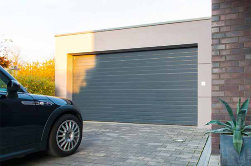 Carteck S-Ribbed Sectional Garage Door