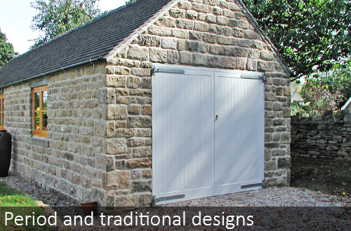 The Garage Door Centre timber period and traditional designs