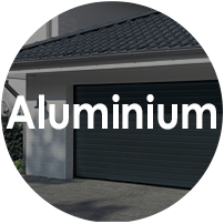 Aluminium Sectional Garage Doors