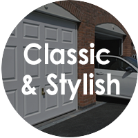 Side Hinged Garage Doors - Classic & Stylish