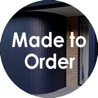 Made to order entrance doors from The Garage Door Centre
