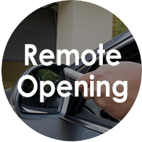 Remote Opening for Sectional Doors