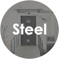 Steel Front Entrance Doors