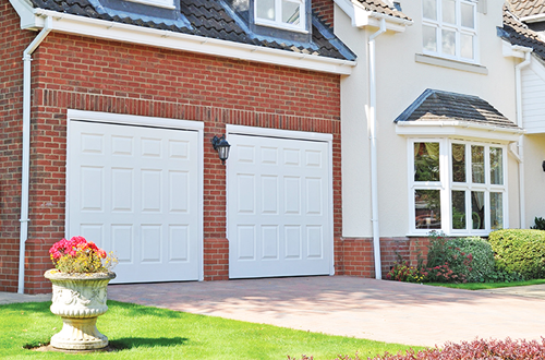 Pair of Cotswold GRP garage doors