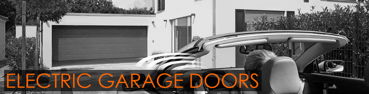 Electric Garage Doors from The Garage Door Centre