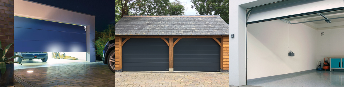 Electric Sectional Garage Doors