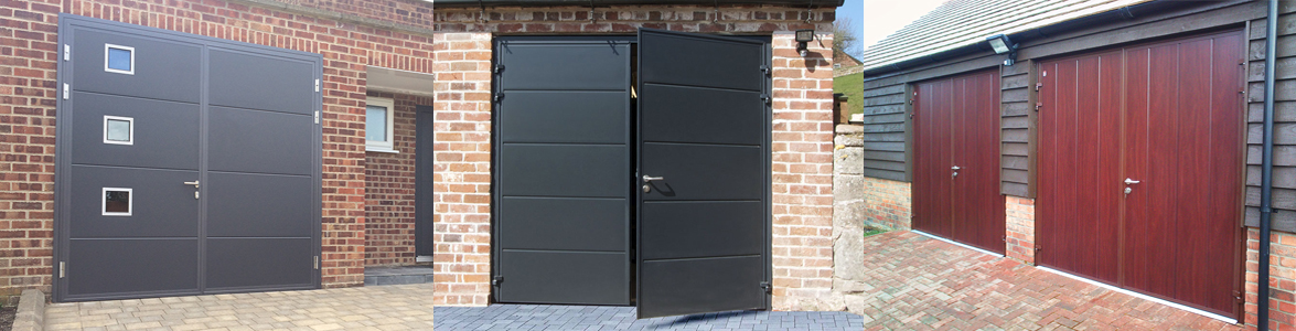Electric Side Hinged Garage Doors