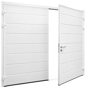 outside image of side hinged doors